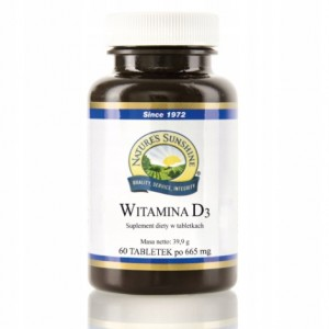 Witamina D3 Nature's Sunshine NSP